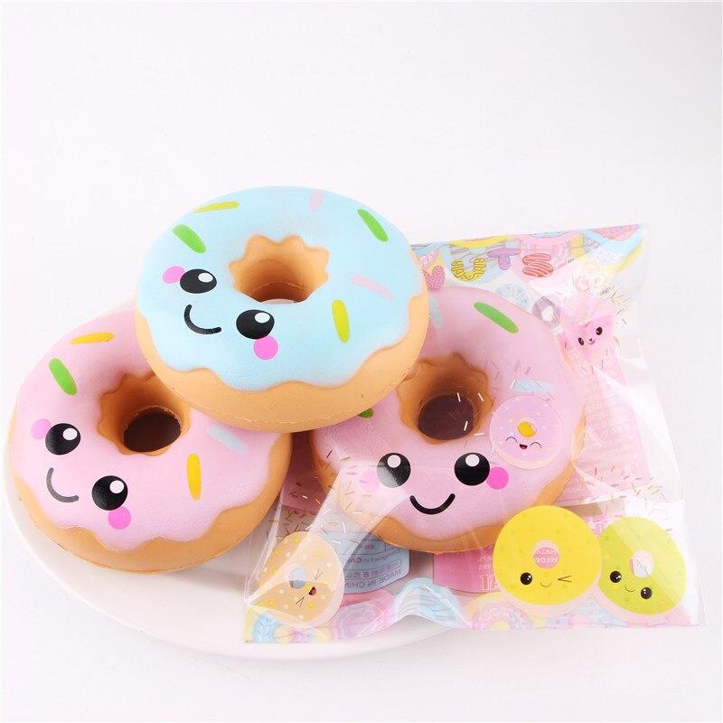 Squishy Doughnut Lento Levantamiento de Estrés Juguetes Para Niños - Nuevos juguetes y juegos - foto 6