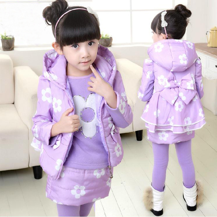 Cute Kids Girls Value Winter Clothes Sets Suits For Girls font b Legging b font Set