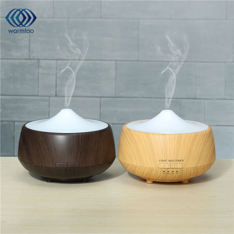 LED Colorful Night Light Ultrasonic Humidifier Essential Aroma Diffuser Air Aromatherapy Humidifier Purifier Mist colorful waterdrop cartoon ombre led night light