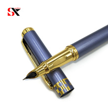 Yushun Brand Metal Medium Nib Fountain Pen Stationery for Fr