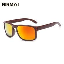 NIRMAI sports sunglasses Retro Glasses Frame Men Women sport Eyeglasses Frames  Temple Foot Eyewares Optical UV400