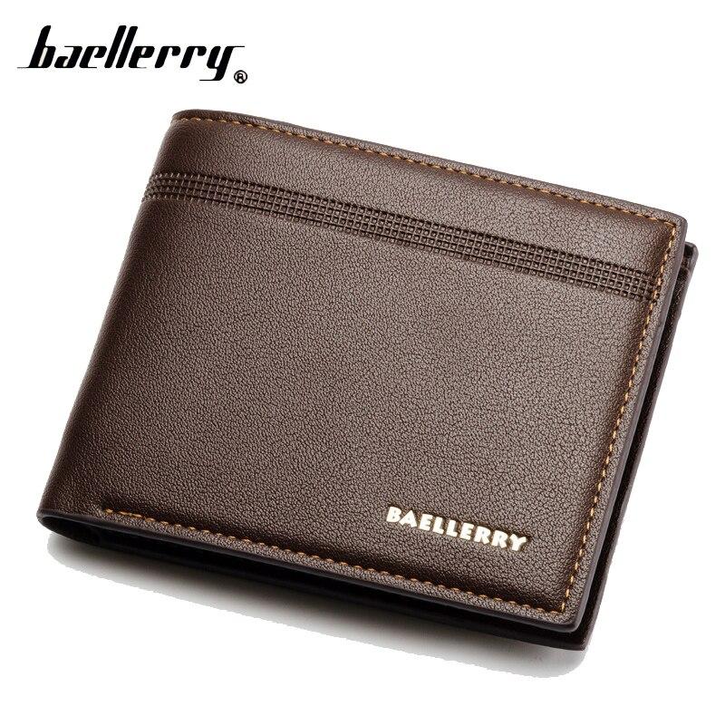 Baellerry Short Men Wallet Male Purse Cuzdan For Money Bag Baellery Portomonee Walet Vallet Carteras Kashelek Portmann Partmone wallet