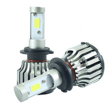 All-in-One Car Headlights LED H7 H8/H9/H11 HB3/9005 HB4/9006 H1 H3 880/881 Bulb Auto Front Bulb 60W 6000lm Automobiles Headlamp