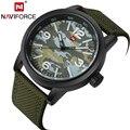 NAVIFORCE Watch Men Luxury Sport Brand Waterproof Watches 2016 Quartz Analog Clock Fabric Strap Army Military Wristwatches LX57