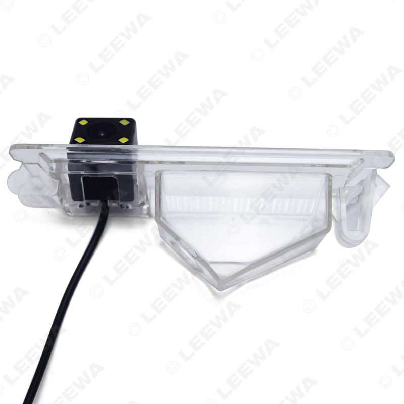 LEEWA HD Special Rear View Car Camera with 4 LED Light For Nissan Nissan March/Micra/Renault Pulse #CA4285