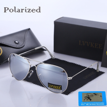 Top quality 100% polarized sunglasses classic aviation sunglasses 8 colors polaroid lenses women men driving eyeglasses