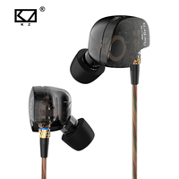 KZ ATE S In Ear Earphones Copper Driver HIFI KZ ATE S Stereo Sport Earphone Super