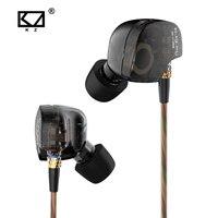 KZ ATE S In Ear Earphones Copper Driver HIFI KZ ATE S Stereo Sport Earphone Super