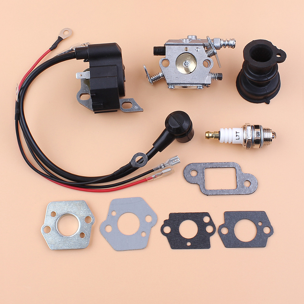 Carburetor Ignition Coil Module Gasket Spark Plug For STIHL MS250 MS230 MS210 021 023 025 Chainsaw Walbro Carb цена