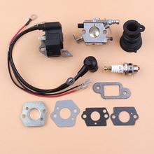 Carburetor Intake Manifold Ignition Coil Kit For STIHL MS250 MS230 MS210 021 023 025 SAWS w/ Gaskets Plate цены онлайн