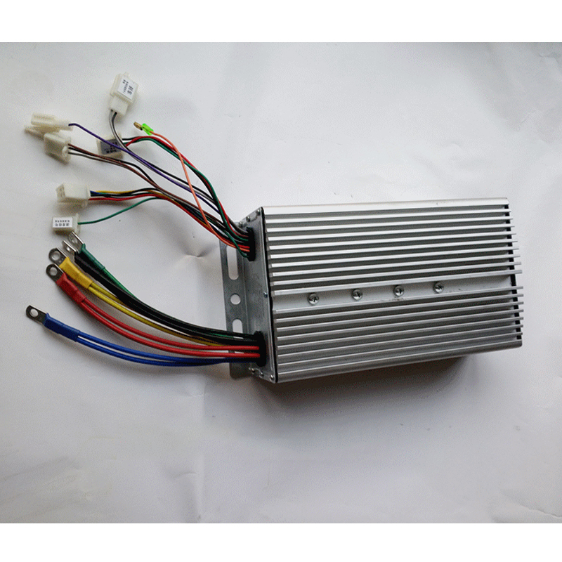 48V <font><b>1000W</b></font> / <font><b>60V</b></font> <font><b>1000W</b></font> Unite Brushless Motor <font><b>Controller</b></font> BC424-10065 / BC624-10065 Controlador for Electric Tricycle Bike Scooter image