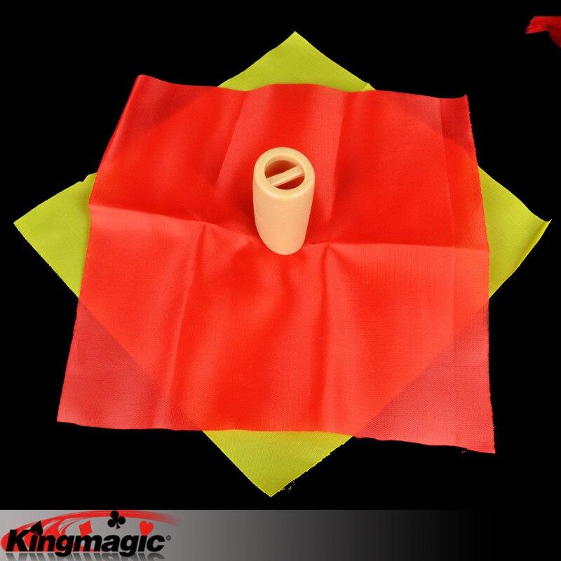 Хамелеон шелк изменить цвет король Волшебные трюки игрушки-реквизиты электронная почта видео к вам