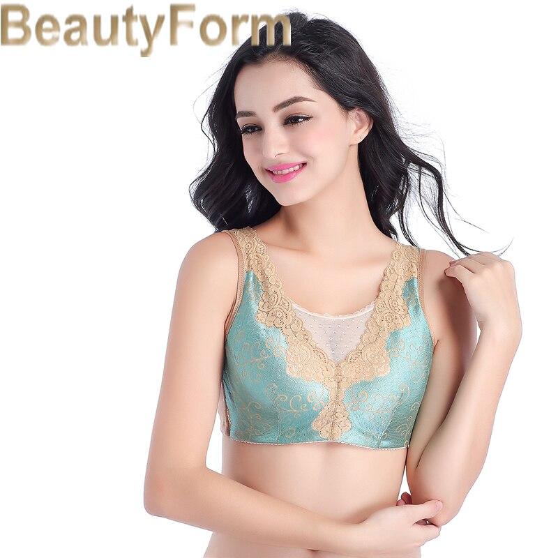 de6ec0b477e46 8728Seamless Mastectomy Bra Comfort Pocket Bra for Silicone Breast Forms  Artificial Breast Cover Brassiere Underwear