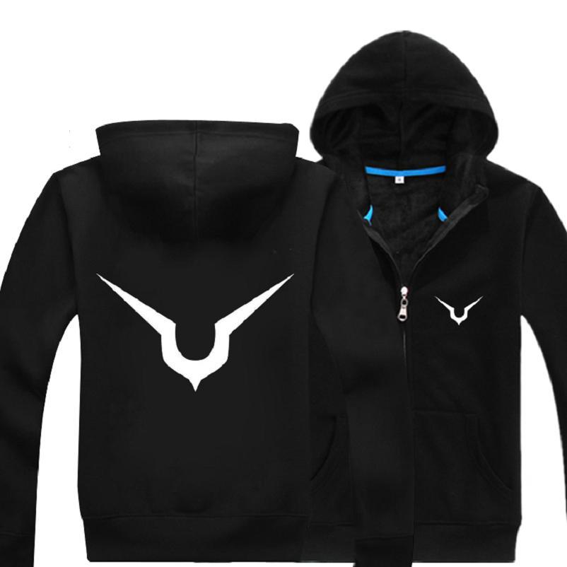High Q Unisex Code Geass Lelouch Hooded Hoodies Casual Cotton Jacket Coat Sweatshirts Top Cardigan