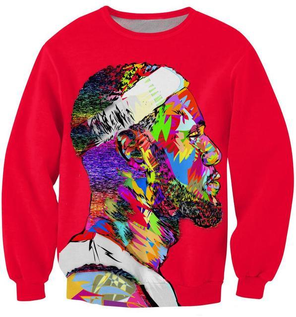 Tie Dye Style Fashion New Men women s 3D Sweatshirt Tie-dye Graphic Printed  Lebron James Funny Sweat Tops Long Sleeve Pullovers 231ce8eee7