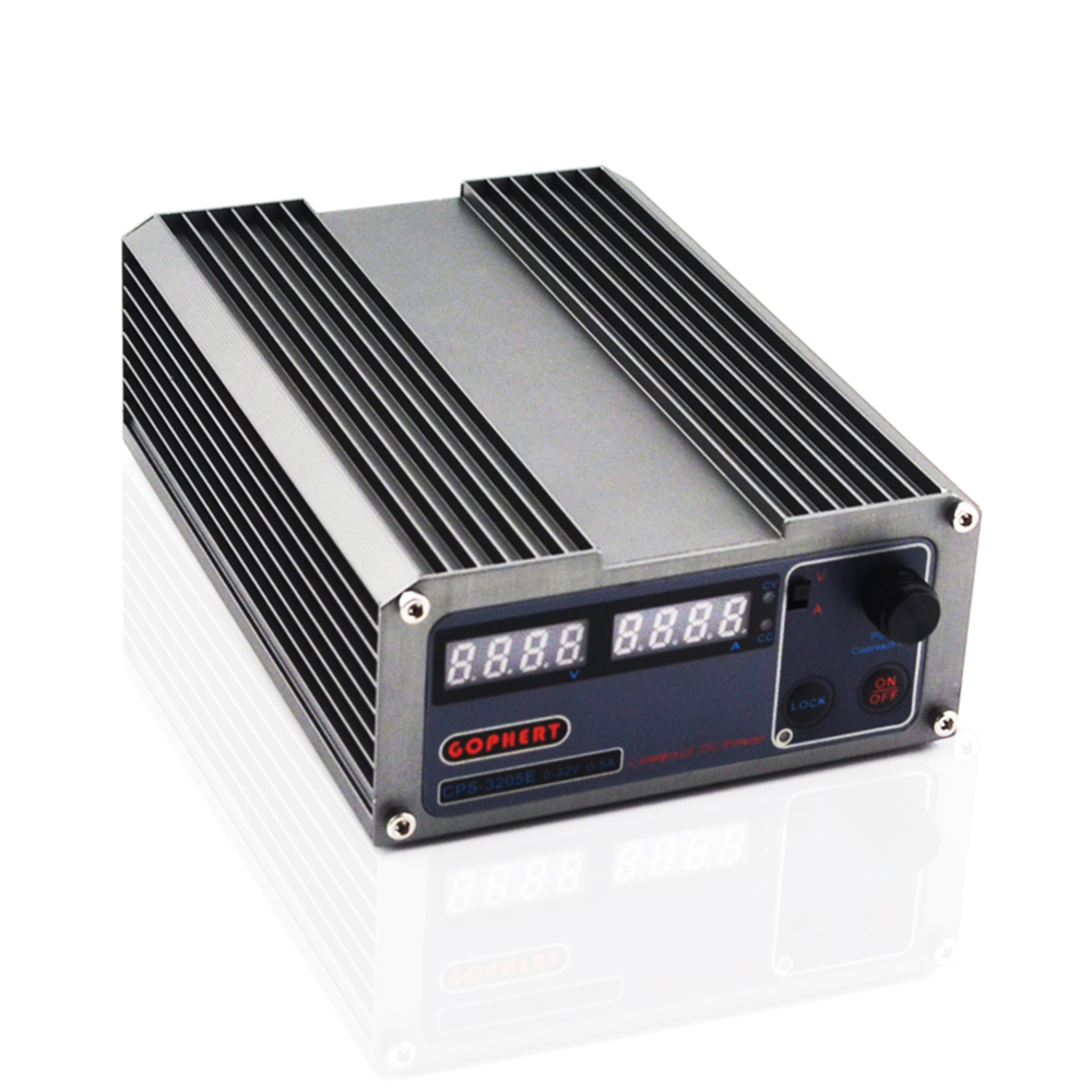 GOPHERT CPS 3205E precision Compact Digital Adjustable DC Power Supply OVP OCP OTP low power 32V5A