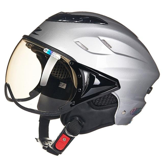 Design Helm zeus honeycomb design motorcycle helmet open half capacete da