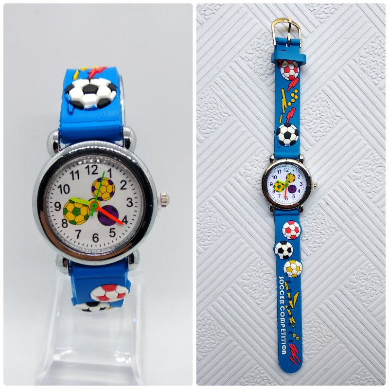 Children's Dream Football Watch Men Mickey Children Watch For Kid Girls Boys Students Clock Digital Kids Watches Birthday Gift