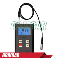 Vibration Meter VM 6370 Used For Measuring Periodic Motion To Check The Imbalance And Deflecting Of