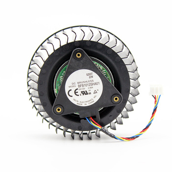 цена на BFB1012SHA01 For AMD R9 390 X Fan DC12V 2.40A 4Pin GPU For XFX R9 390X fan Graphics Card Cooling  Public version