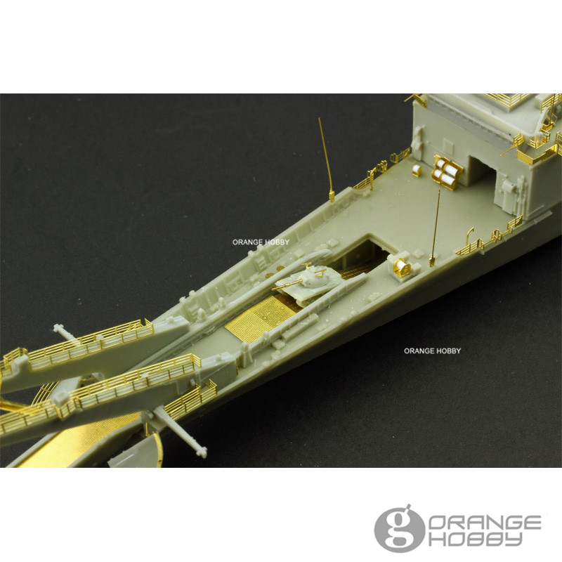 c84c55066503 Aliexpress.com   Buy OHS OrangeHobby N07081 1 700 ROCS LST232 233 Newport  Class Tank Landing Ship Assembly Scale Military Ship Model Building Kits oh  from ...