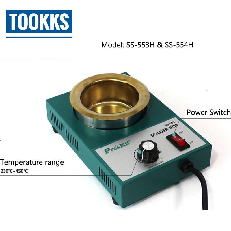 цена на Lead Free Solder Pot Soldering Desoldering Bath Tin melting furnace Wire Tinning Tool 150W/200W/250W/300W