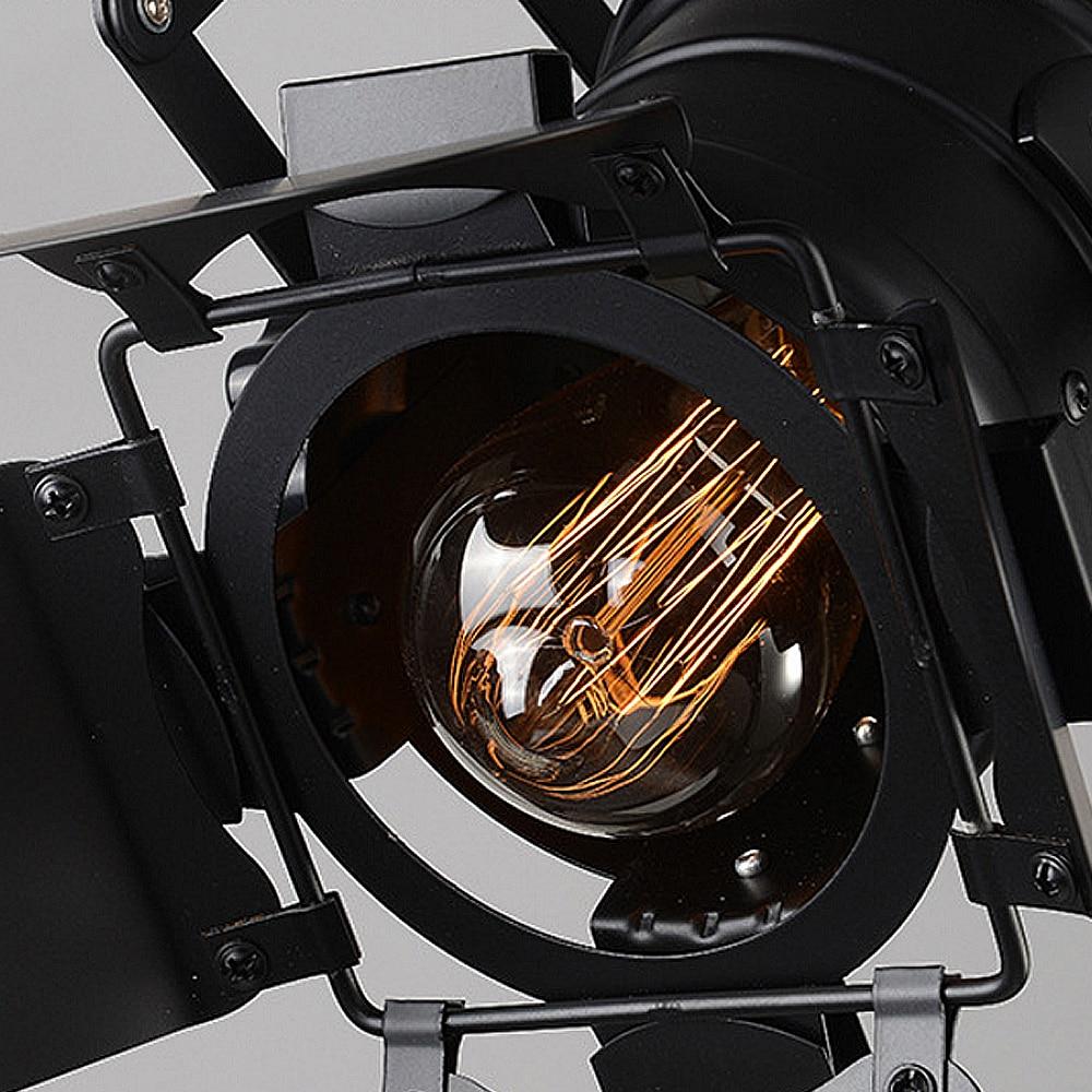 Արվեստի լամպ լուսային ռետրո - Ներքին լուսավորություն - Լուսանկար 4