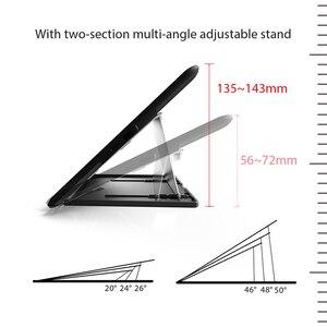 Image 5 - Huion ST 200 מתכוונן מוטי זווית Stand מתכת מתקפל סוגר עבור גרפיקה צג עבור 15.6 אינץ