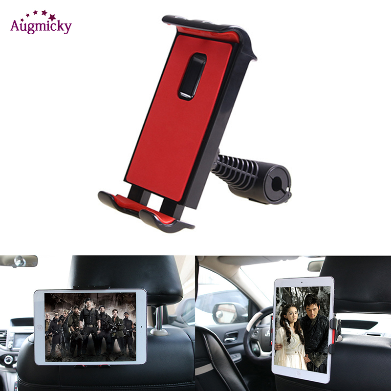 360° Rotating Universal Car Back Seat Headrest Phone Holder Stand For GPS Mobile