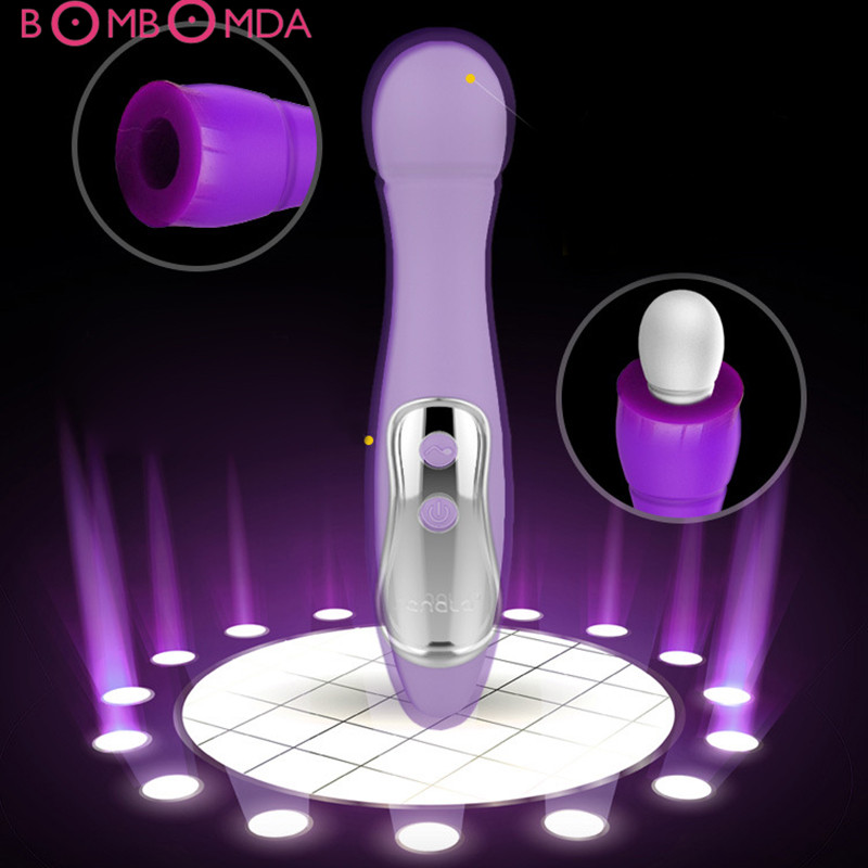 Female liquid silicone powerful AV shock stick Oral Clit Vibrators For Women G spot Vibrating Dildo Anal Magic Wand Massager HOT female liquid silicone powerful av shock stick oral clit vibrators for women g spot vibrating dildo anal magic wand massager hot