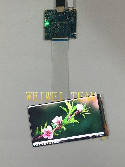 5,9 pulgadas IPS TFT 1080*1920 1080 P pantalla LCD panel de pantalla con HDMI a MIPI interfaz Placa de controlador para auriculares 3D VR