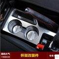 Carro-styling Acessórios Suporte de Copo Console Central Do Painel Interior Molding Cobertura Guarnição para Jeep Compass Patriot 2011-2015