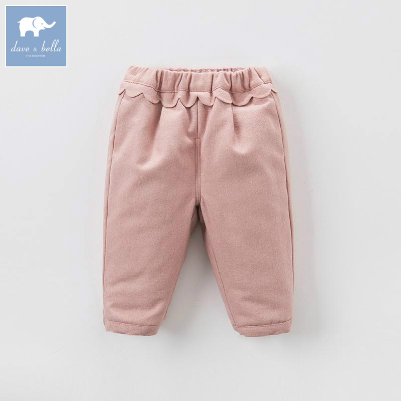 DB6938 dave bella winter baby girls full length kids fashion pink pants children trousers db6938 dave bella winter baby girls full length kids fashion pink pants children trousers