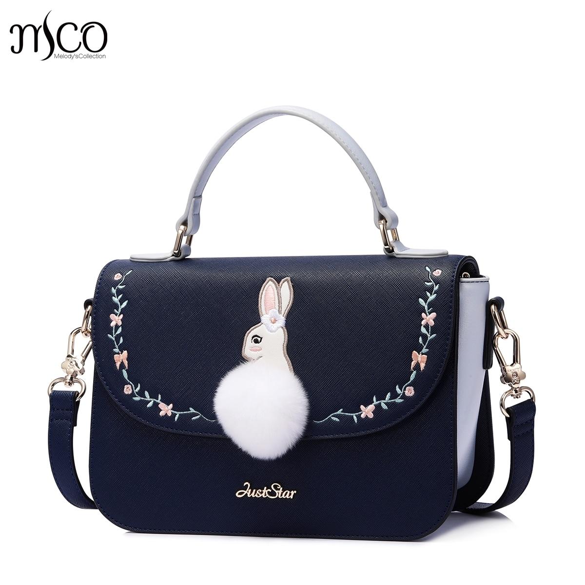 купить Brand PU Leather Bunny Purse Crossbody Shoulder Women Bag Clutch Female Handbags Sac a Main Femme De Marque по цене 3021.13 рублей