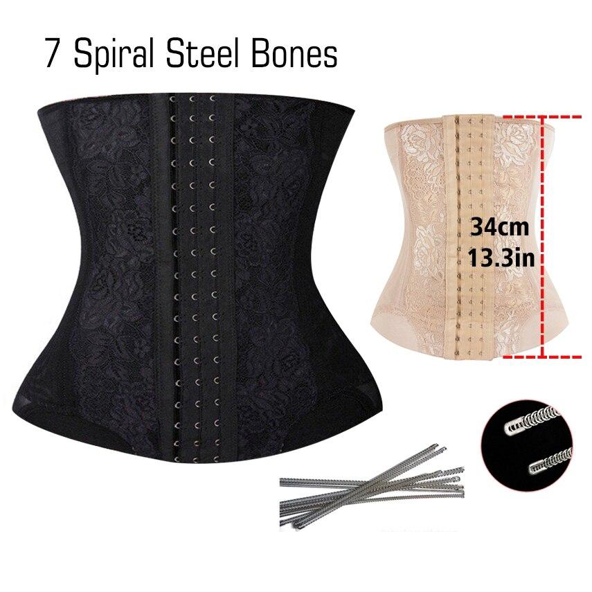 Women waist trainer body shaper cinta modeladora   corset   firma cintura plus size shapewear   corset   girdle slimming shaper