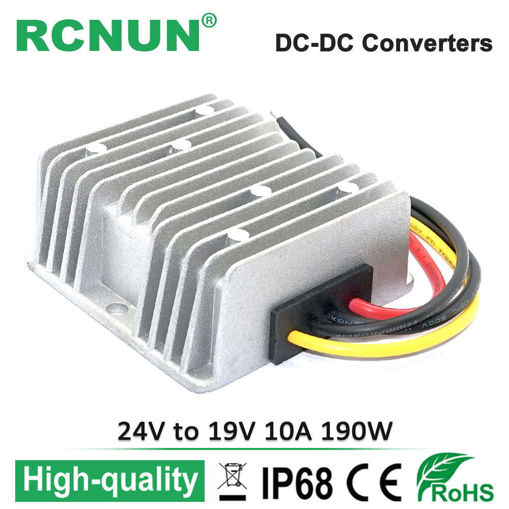 24v To 19v 10a Step Down Dc Converter 24 Volt Reducer 19 Dcdc Charger And Right Threephase Dcac Inverter Voltage Regulator 190w Laptop Power Supply For Car In Inverters Converters From Home
