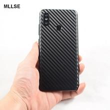 3D Carbon Fiber Skins Film Wrap Skin Phone Back Paste Sticker For XIAOMI Mi9/Mi8 SE/Mix 2S/MIX3/Redmi 7 /K20 Pro /Note 5 Pro