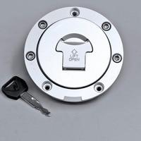 New Motorcycle Fuel Gas Cap Cover Tank Lock Set For Honda CB400 CB 1 CB400 VTEC 1 4 CBR400 VFR400 MCT4957