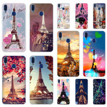 France Paris Eiffel tower Soft Silicone Case Cover For Huawei Honor 9 10 Lite 6X 7X 8X Max Phone cases 7A 8A 8C V20 PLAY 10i(China)