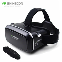 VR Shinecon Virtual Reality Head Mount 3D Video Glasses Google Cardboard 2 0 Oculus Rift DK2