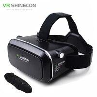 VR Shinecon Virtual Reality Head Mount 3D Video Glasses Google Cardboard 2 0 Oculus Rift DK2