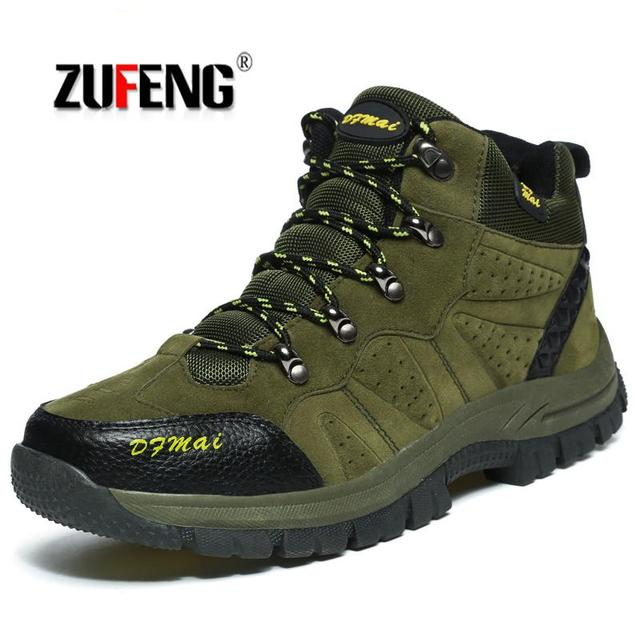Winter High Top Men Hiking Shoes Women Outdoor Waterproof Hiking Shoes Mountain Zapatillas Trekking Mujer Shoes Warm Snow Boots