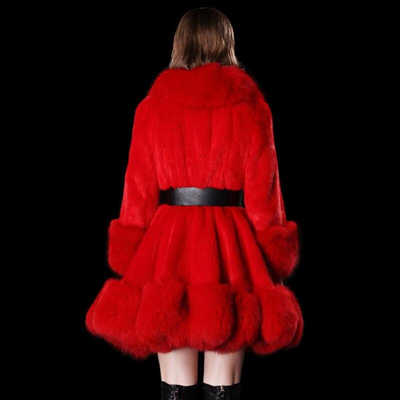 LVCHI Γυναικεία πλεκτά γνήσια γούνινα - Γυναικείος ρουχισμός - Φωτογραφία 4