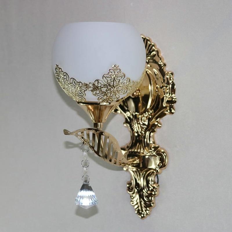 Moderna lâmpada de parede led estilo europeu
