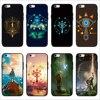 FATPERSON New design Legend Of Zelda Breath Of The Wild Sheikah Slate Cover Black Cases FOR iphone 6S 6 7 8 Plus X 10 5 5S SE