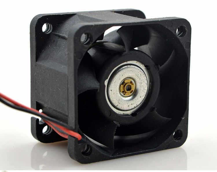 デルタオリジナルFFB0412SVHNコンピュータブロワー冷却軸流ファンdc 12ボルト0.24a 4028 40*40*28ミリメートル2ワイヤ