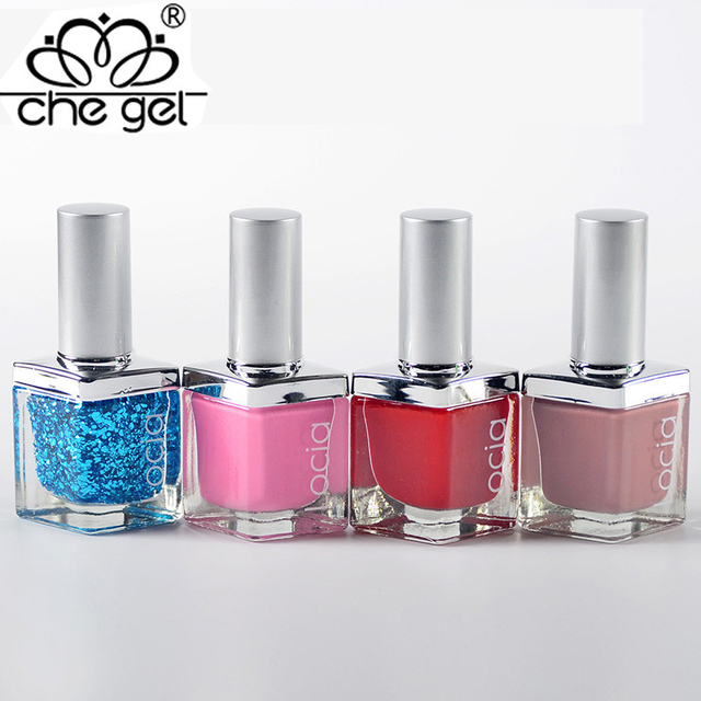 High Quality 1 PCS 60 Colors Nail Polish Varnish Bright ...