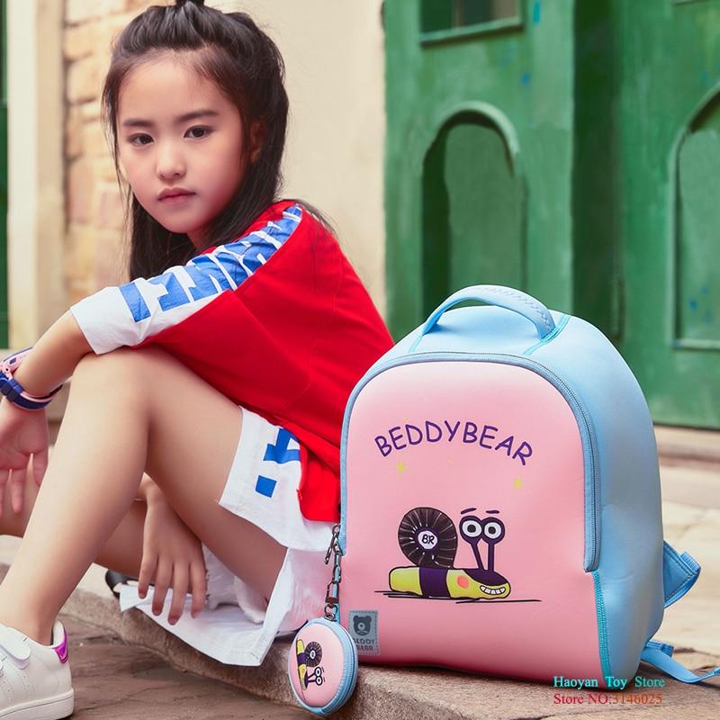 YANZCHILD filles coréennes garçons petits cartables Cartoon enfants sacs à dos en peluche sac Parent-enfant voyage quotidien sac à bandoulière CS0046