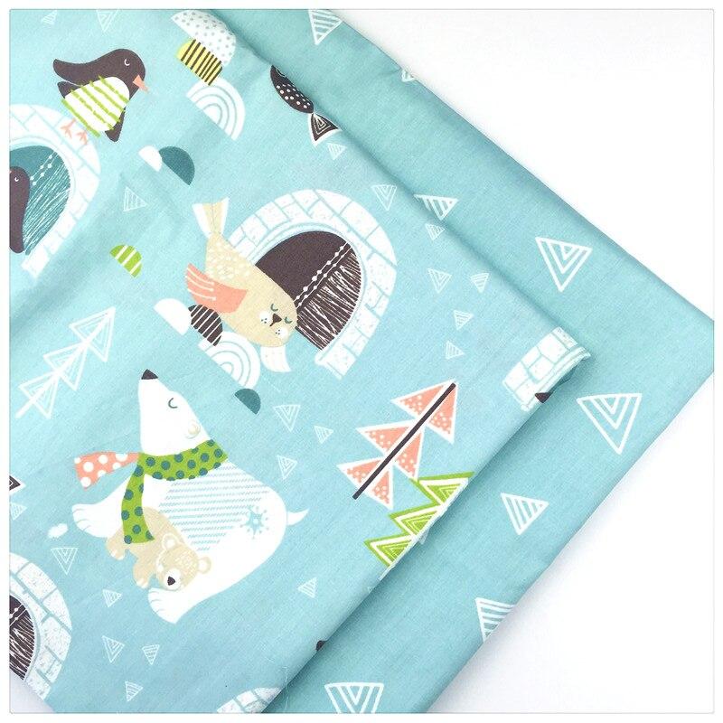Animal Print 100% tejido de algodón Twill By remiendo metros para DIY hechos a m