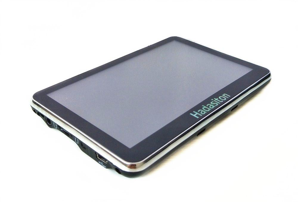 """Горячая 4,"""" сенсорный экран Sat Nav Автомобильный gps навигатор CPU800Mhz 8 ГБ+ fm-передатчик+ Бесплатные Последние карты"""